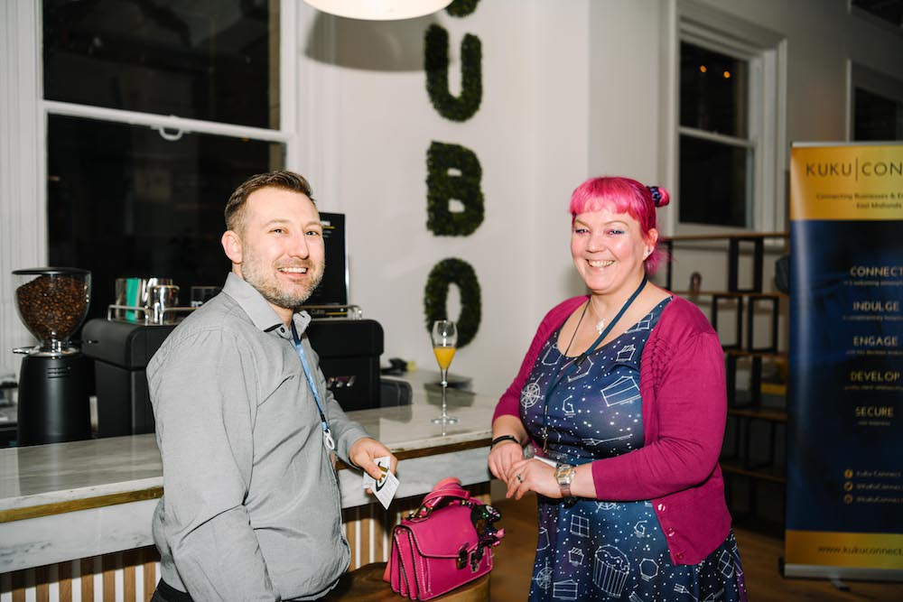 KuKu Connect Business Networking Derby at Cubo